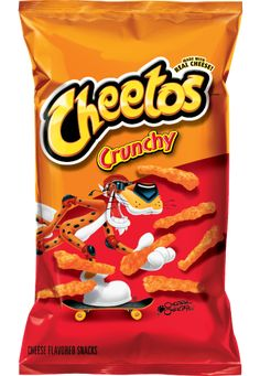 CHEETOS® Crunchy Cheese Flavored Snacks that start with the letter C