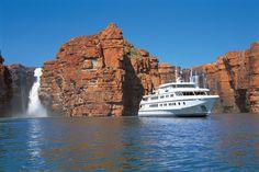 Luxury cruise on True North in the Kimberleys, north Western Australia.