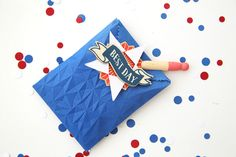 Patriotic Treat Bags by Eva Pizarro for We R Memory Keepers Goodie Bags, Treat Bags, We R Memory Keepers, For Your Party, Cool Kids, Summer Time, Make It Simple, Paper Crafts, Treats