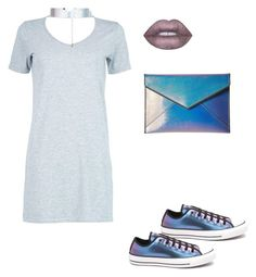 """""""🌌"""" by laure-lien on Polyvore featuring Converse, Boohoo, Rebecca Minkoff, Accessorize and Lime Crime"""