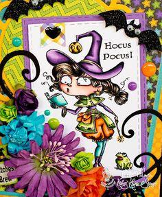 Scrappychic17's Crafty Corner: Kraftin Kimmie Release Sneak Peek Day #1: Witch Willa