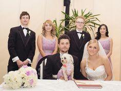 Melbourne wedding photos | Marquee | Wedding group photos | Dogs at weddings
