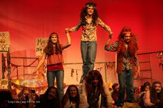 teen performing arts camp - Hair