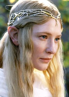 Cate Blanchett as Galadriel in The Lord of the Rings