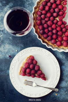 Raspberry Tart ... Yum!
