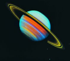 vibrationism:    Saturn - if we didn't know it existed it would be too weird to believe in a science fiction movie, right?