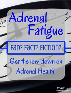 Is Adrenal Fatigue A Fad? Get the Low Down on Adrenal Health. Adrenal Fatigue seems to be the rage these days. But is there substance to the fad? Hear from a KS panel on ways to promote adrenal health (and whether or not adrenal fatigue is real.)