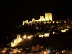 Castillo de Santa Catalina. Jaén. Andalucía. España.