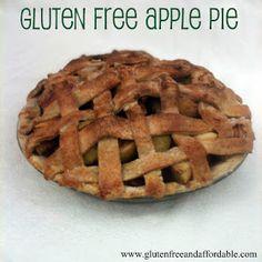 Gluten free apple pie #glutenfree #apple #pie #recipe