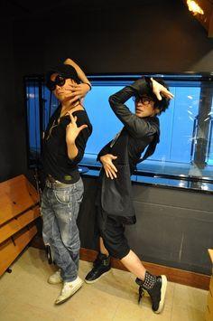 Tatsurou. Umi. MUCC x Vistlip. Dir En Grey, Visual Kei, Japanese, Rock, Random, Memes, Japanese Language, Skirt, Meme