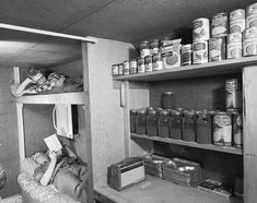 Everytime I see a picture of a fallout shelter, there is Campbell's Soup in it. I'm beginning to think that's where soup comes from.