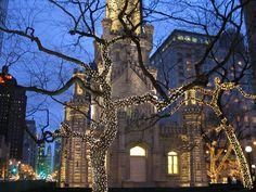 La navidad no es para estar triste y menos en Chicago!