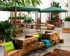 meubles en bois de design moderne par Tora Brasil