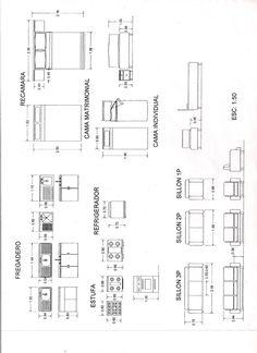 Medidas De Muebles Para Planos Arquitectonicos Expresi N