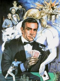 Sean Connery, James Bond.