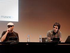 Presentación MASE. Juan Cantizzani y Chema Gonzalez. Museo Reina Sofía. Madrid 3-Abril-2014