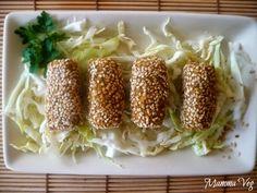 Mamma Veg: Crocchette di lenticchie e miglio al sesamo