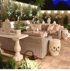 45 Backyard Patio Ideas That Will Amaze & Inspire You - Pictures of Patios Brilliant backyard ideas diy patio diy patio ideas Diy Patio, Backyard Patio, Backyard Landscaping, Landscaping Ideas, Backyard With Pool, Romantic Backyard, Luxury Landscaping, Landscaping Company, Outdoor Living Rooms