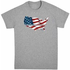 Personalized Land of the Free Men's Shirt, Available in Multiple Sizes, Size: 3Xlarge, Multicolor