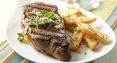 Parmesan Basil Grilled Steaks