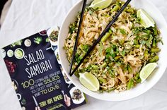 As a huge fan of anything by Terry Hope Romero, I could not wait until the release of her new cookbook Salad Samurai: 100 Cutting-Edge, Ultra-Hearty, Easy-to-Make Salads You Don't Have To Be Vegan To Love. Her previous two cookbooks Vegan Eats World and Viva Vegan are two of my very favourite cookbooks to browse through for inspiration. I love her flavour combinations! They are always so creative and the recipes so flavourful. In Salad Samurai, Terry presents 100 hearty and easy-to-make…