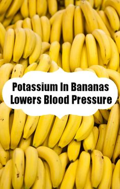 Consuming enough potassium can help!