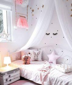 Wandschmuck-Set Confetti Dots Here More. Girls Princess Bedroom, Pink Bedroom For Girls, Princess Room, Baby Bedroom, Little Girl Rooms, Baby Room Decor, Nursery Room, Bedroom Decor, Bedroom Ideas