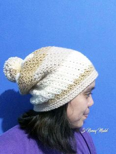 This hat is made of Wattle Stitches crochet in a round. It creates a beautiful stitch pattern when you crochet in rounds like that of a h...