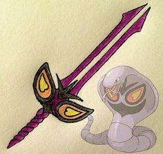 Arbok's sword will send venomous poison into your opponent.