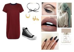"""Saturday"" by isabellasmall on Polyvore featuring New Look, Converse, Mehron, Bella Freud and Dinny Hall"
