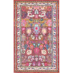 Would look amazing in a child's room!  Unique Loom Barcelona Area Rug & Reviews | Wayfair