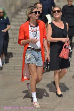 street style show Paul Smith fashion week Paris men shooting Bain de Lumière#offduty #streetstyle #PFW#fashionweek