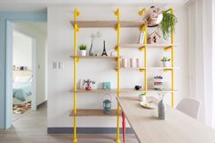 Apartment, Intresting DIY Shelve In Yellow Colour As Tampa Apartments Ornaments: Several Aspect You Must Know About Tampa Apartments