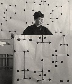 Ray Eames, wife of Charles Eames Textile Design Maharam Eames Textiles