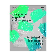 One poster every day for 365 days.A project by: Vasjen Katro