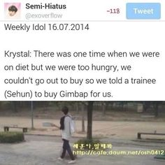 I can totally see Krystal sending trainees to do chores for her! Lol