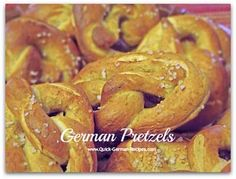 Bakery style homemade pretzels from a German baker to you! These are the large pretzels that taste so good dunked into German mustard. You NEED to make these!