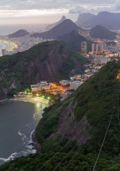 Rio De Janeiro is one of the most naturally beautiful cities in my opinion.