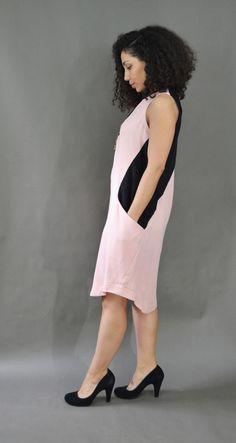 Colorblock Dress, Color Blocking, Backless, Dresses, Fashion, Vestidos, Moda, Fashion Styles, Dress
