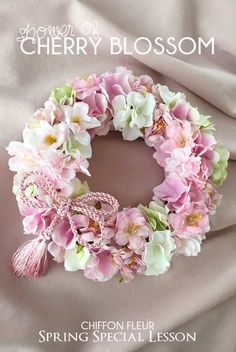 59 Ideas For Birthday Flowers Arrangements Shabby Chic Easter Wreaths, Christmas Wreaths, Dried Flowers, Paper Flowers, Vintage Wreath, Diy Spring Wreath, Wedding Wreaths, Wreath Crafts, How To Make Wreaths