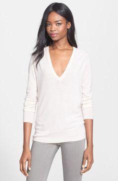 Equipment 'Kelsey' Cashmere V-Neck Sweater