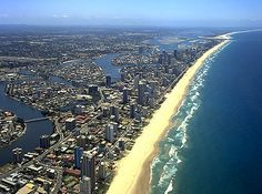 My favorite place on earth, Surfer's Paradise, Gold Coast, Australia. Gold Coast Queensland, Gold Coast Australia, Queensland Australia, Australia Travel, Best Tourist Destinations, Places To Travel, Places To Visit, Costa, China Travel