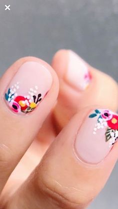 Gel Nail Designs You Should Try Out – Your Beautiful Nails Acrylic Nail Designs, Nail Art Designs, Acrylic Nails, Diy Nails, Cute Nails, Nail Deco, Semi Permanente, Nail Design Spring, Manicure E Pedicure