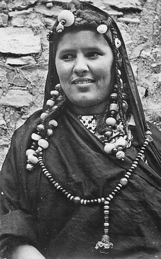 Mauritania | Moorish woman.  ca. 1950s | Published by GIL