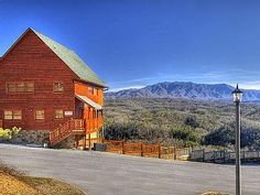 Beautiful 2 Bedroom Cabin With Breathtaking Mountain Views. Located In The Starr  Crest Resort Adjacent To Dollywood In Pigeon Forge, TN, This.