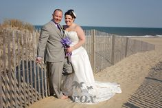Wedding on Ocean City MD's 67th St. Beach (Holiday Inn) by Rox Beach Weddings:  https://www.roxbeachweddings.com/