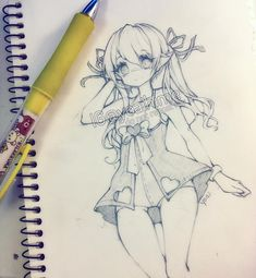 Hihi~ I hope everyone is doing well (。・ω・。)ノ♡! I erased another page to make room for more sketches...But it was kinda just scribbles so I didn't really feel bad erasing |( ̄3 ̄)| I want a swimsuit like this where it's kind of also a dress but idk what it is called xD - -#elf #sketch #sketchbook #anime #animegirl #animeart #animedrawing #manga #mangaart #mangadrawing #mangagirl #animestyle #instaart #instadraw #instadrawing #instaanime #instamanga #drawing #illustration #art #kawaii…