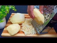 Συνταγή τριμμένων πατατών σε λίγα λεπτά! Πατάτες και αυγά με τυρί - YouTube Easy Cooking, Cooking Recipes, Sweet Potato Rice, How To Cook Potatoes, Healthy Vegetables, Fried Potatoes, Special Recipes, Desert Recipes, Meals For One