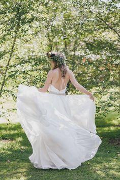 Maleny Manor Summer Showcase Weekend | Elizabeth de Varga Bridal | couture | bespoke | lace | beaded | wedding gown | Australian designer | made in Australia | Sunshine Coast | hinterland | manor bride | inspiration | Playsuit | detachable skirt | one piece | kitty