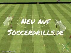 Soccerdrills Video-Channel auf YouTube. Videos für Fußballtrainer die zum Fußballtraining kreative Ideen liefern. www.youtube.com/user/soccerdrillsde